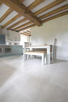 White Pearl porcelain stone tiles available in for floor tiles. Order your FREE sample of White Pearl porcelain stone tiles today! Stone Tile Flooring, Stone Tiles, Modern Flooring, Living Room Flooring, Kitchen Flooring, Room Tiles, White Tiles, White Tile Floors, Ibiza