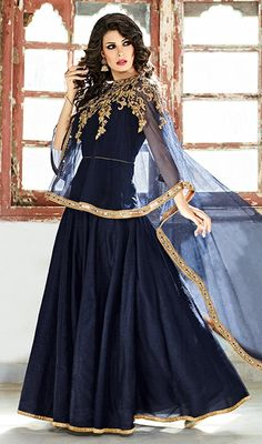 8f8576f23c03 Latest Designer Indian Gowns Collection 2018 Indisk Slid