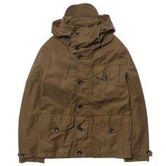 ten c Navy Brown Navy Parka, Navy And Brown, Sport Coats, Denim Jackets, Trek, Military Jacket, Menswear, Bear, Adidas
