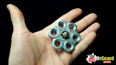 Fidget toys spinner DIY we love. Maybe later, you often see this unique toy milling about in social media. Yup, a toy that has a shape like shuriken is known by the name Fidget Spinner and is popular among today's… Continue Reading → Fidget Spinner Video, Fidget Spinner Games, Fidget Spinners, Diy Fidget Toys, Washer Crafts, Figet Toys, Fun Crafts, Crafts For Kids, Hand Spinner