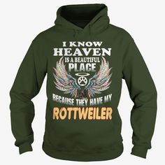 #ROTTWEILER I Know Heaven With My #ROTTWEILER, Order HERE ==> https://www.sunfrog.com/Pets/127767221-790925290.html?51147, Please tag & share with your friends who would love it, #xmasgifts #jeepsafari #birthdaygifts  rottweiler puppy, rottweiler german, rottweiler training #rottweiler #family #holidays #events #gift #home #decor #humor #illustrations