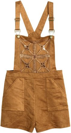 H&M - Overall Shorts - Camel - Ladies