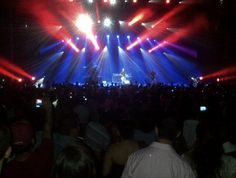 """Concierto Hombres G  en """"Forum Mundo Imperial"""" #Acapulco #México #Enlaplaya2012 #hombresg . Foto realizada en twitter"""