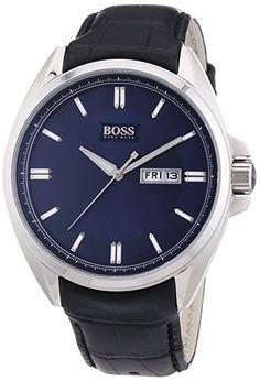 Hugo Boss Men's Quartz Watch 1512878 1512878 with Metal Strap Cool Watches, Watches For Men, Wrist Watches, Men's Watches, Hugo Boss Watches, Boss Black, Hugo Boss Man, Women Brands, Stainless Steel Case