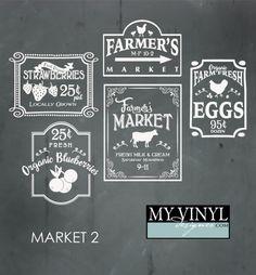 DIGITAL DOWNLOAD ... Farmer's Market vectors in AI, EPS, GSD, & SVG formats @ My Vinyl Designer #myvinyldesigner