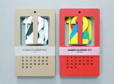 2012 Cut Out Calendar by Present & Correct