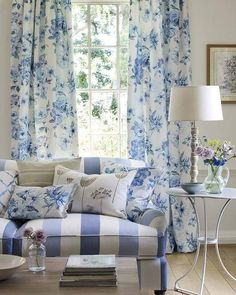 Cottage parlor ~~ Jane Churchill fabrics & wallpapers