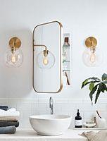 bath Ikea Bathroom, Bathroom Hardware, Bathroom Renos, Bathroom Furniture, Bathroom Ideas, Bathroom Mirror Cabinet, Bathroom Organization, Bathroom Storage, Recessed Medicine Cabinet Mirror