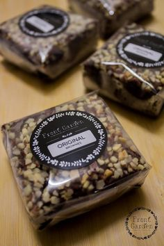 Brownies packaging                                                                                                                                                                                 Más