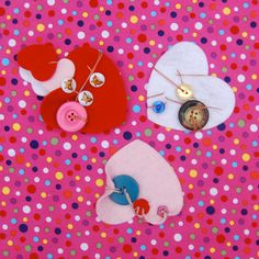 At home with Ali: Learning to sew with hearts and buttons