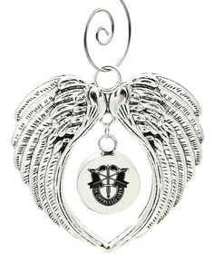 Sarahs Artistic Studio Angel Pendant Cremation Urn Necklace Jewelry with Filling Kit Memorial Remembrance Jewelry Keepsake Personalize Special Christmas Gift for Her or Him