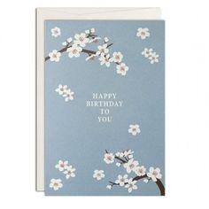 Haferkorn & Sauerbrey Cherry Blossom Grußkarte A6