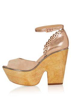 Chaussures compensées « Shamrock » CJG