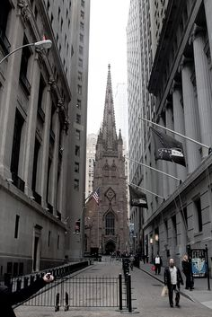Wall Street Trinity Church