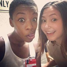Orange is the New Black - Samira Wiley and Kimiko Glenn