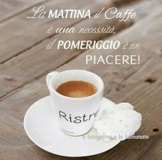 """#Caffè  """"Of a morning, coffee is a necessity. Of an afternoon, a pleasure."""""""