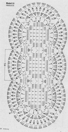 Centrotavola crochet