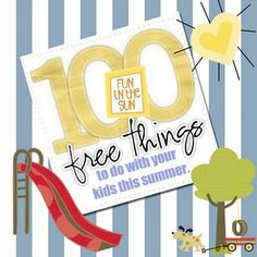 100 Fun Kid Summer Activities