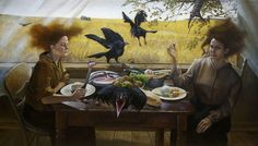 Surrealism and Visionary art: Andrea Kowch