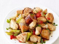 Get Food Network Kitchen's Chicken, Sausage and Peppers Recipe from Food Network