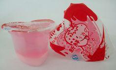Strawberry Jello Cups