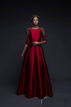 Шикарные платья израильского дизайнера Chana Marelus - Ярмарка Мастеров - ручная…