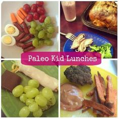 Cave Family: Paleo Kid Lunches - love the turkey roll ups - Click image to find more food & drink Pinterest pins