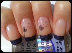 The World of my Nails : Matching Manicures Sunday: francuski manikir