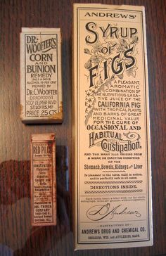 old medicine packaging - Google Search
