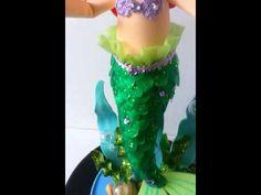 ariel, la pequeña sirenita -fofucha  YouTube