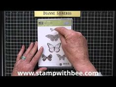 Embossing Technique..that allows you to use any of our Stampin'Up! colors