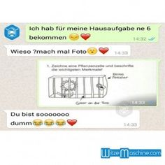 Lustige WhatsApp Bilder und Chat Fails 168 - Bio in der Schule