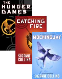 The Hunger Games, Catching Fire and Mocking Jay- Suzanne Collins