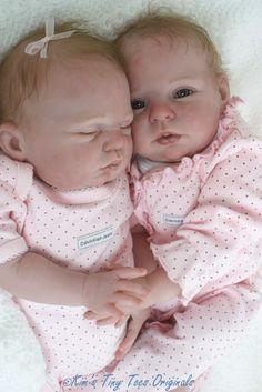 Honey & Sugar ~Twins~ Reborn Doll Kits by Donna RuBert