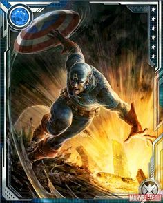 """Calling all """"Marvel War of Heroes"""" agents! Rally your team and help Captain America battle the Red Skull in the latest raid event for the hit mobile game! Have you joined the latest """"Marvel War of Heroes"""" event yet?"""