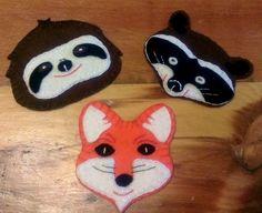 Free Felt Patterns for Cute Animals