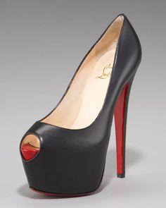 http://www.shopstyle.com: Christian Louboutin Highness Platform Pump, Black