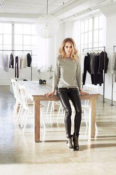 Los Angeles / Le loft/studio de création d'Anine Bing et sa boutique /