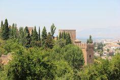 Spain,  Granada - Alhambra