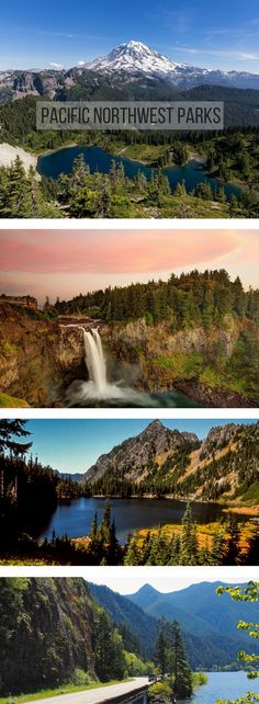 American Landscapes: Pacific Northwest Parks: Mountains, rainforests, beaches, and more in the Pacific Northwest!