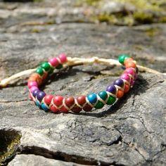 Bracelet en graines d'asaí