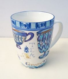 Taza Blue Tea