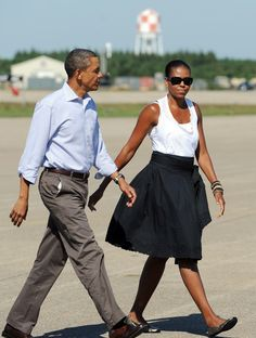 25 Times Michelle Obama's Casual Outfit Proved She's the Chillest First Lady Ever