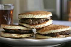 Sausage McCriddles are my Trim Healthy Mama take on the McDonald's McGriddle. Want the taste with out all the sugar and carbs? Give this low carb version a try!