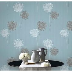 wallpaper camarque blue / behang camarque blauw - bn wallcoverings, Deco ideeën