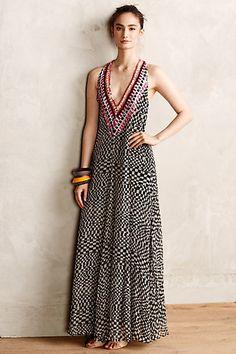 Amfissa Maxi Dress #anthropologie #anthrofave