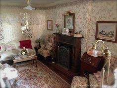 Kathleen Holmes New Dollhouse Living Room