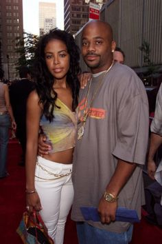 Aaliyah and Damon Aaliyah Miss You, Rip Aaliyah, Aaliyah Style, Aaliyah And Damon Dash, Black Love, Black Is Beautiful, Black Celebrities, Celebs, Famous Celebrities