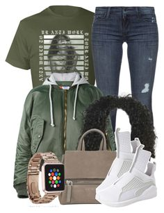 """10/17/16"" by jasmineharper ❤ liked on Polyvore featuring Black Orchid, Vetements, Givenchy and Puma"