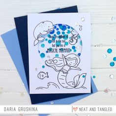 Neat & Tangled July Release Day 3 | Falling Into Cardmaking